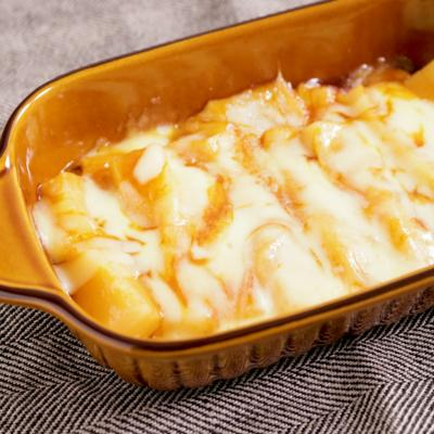 切り餅で簡単 チーズトッポッキ風