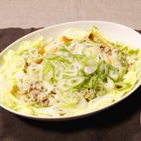 缶詰とレンチンでお手軽!鮭と白菜の重ね蒸し