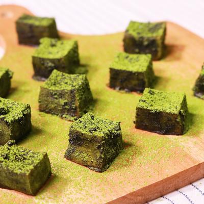 高野豆腐の一口抹茶クッキー
