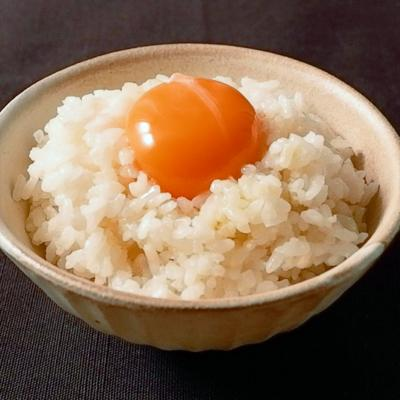 白トリュフオイルで卵かけごはん