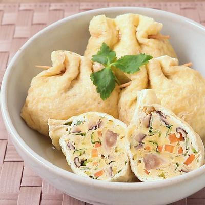 優しい味わい 粉豆腐の袋煮