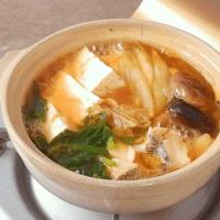 寒い日には!タラのピリ辛チゲ鍋