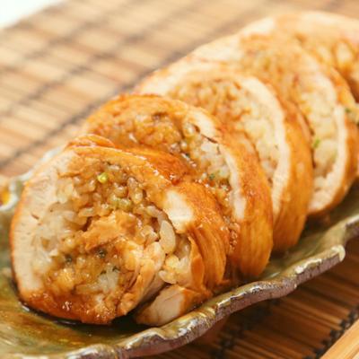炒飯風チキンロール