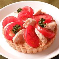 鶏肉とトマトで!話題のセイボリータルト