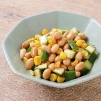 大豆ときゅうりのポン酢マリネ