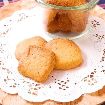 ザクザク食感 コーングリッツクッキー