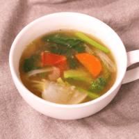 野菜が満点!ジンジャースープ
