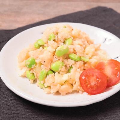 枝豆入り明太ポテトサラダ