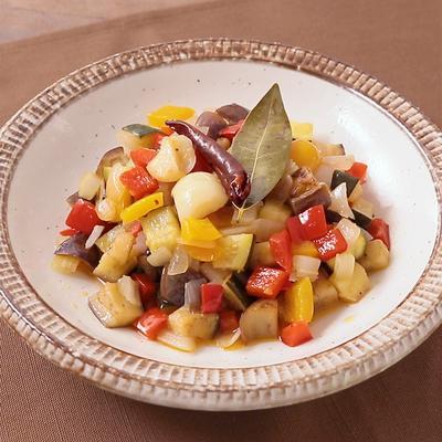 いろいろ野菜のカポナータ