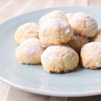 ピーナッツ香るスノーボールクッキー