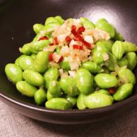 簡単!早い!枝豆のペペロンチーノ風
