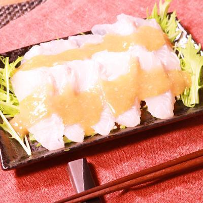 お刺身の切り身で簡単にできる!ゆず味噌カルパッチョ