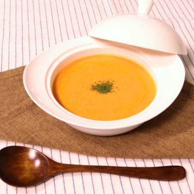 豆腐を使って!クリーミートマトスープ