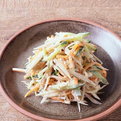 胡麻マヨごぼうサラダ