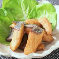 チーズカレー風味 ブリの竜田揚げ