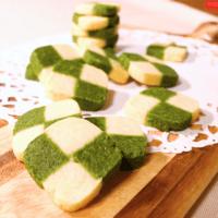 2色のアイスボックスクッキー