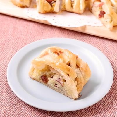 おみやげに!りんごとスィートポテトのパイ
