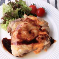 絶品バルサミコソースのチキンチーズステーキ