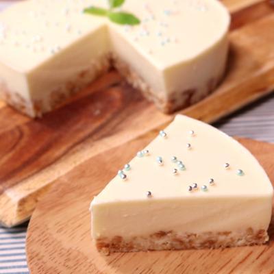 さっぱりさわやか ホワイトレアチーズケーキ