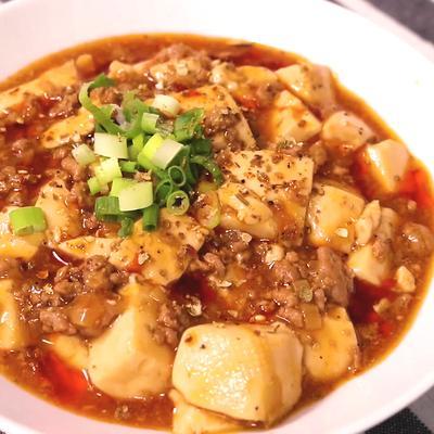 本格的な麻婆豆腐