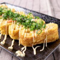 明太モッツァレラチーズ卵焼き