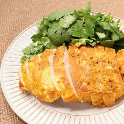 レンジで作れる タンドリーチキン風サラダチキン