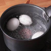卵のゆで時間と固さの関係