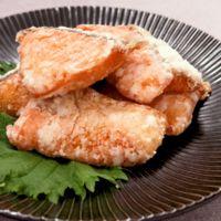 ご飯が進む 塩鮭の竜田揚げ
