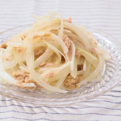 ツナと玉ねぎのシンプルサラダ