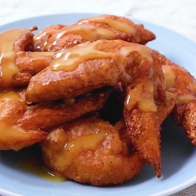 カレー風味のハニマス韓国風唐揚げ