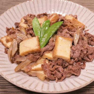 牛肉とごぼうのさっと炒め