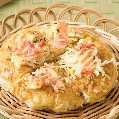 キャベツたっぷり お好み焼きパン