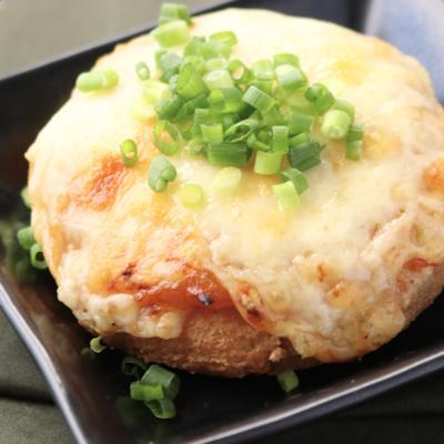がんもどきの簡単味噌チーズ焼き