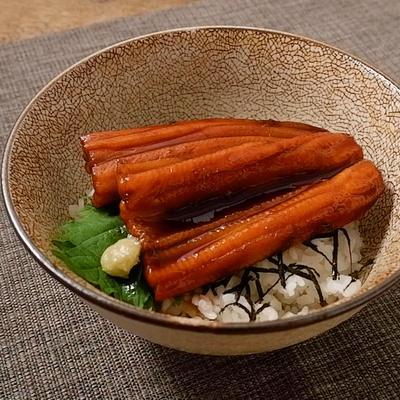 ふっくら甘辛 煮穴子丼