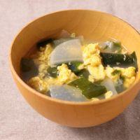 大根と卵のお味噌汁