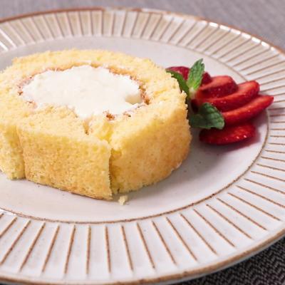 チーズクリームが美味しいロールケーキ