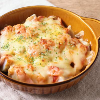 里芋とベーコンのチーズ焼き