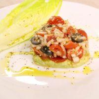 アボカドとミニトマトのバルサミコプチサラダ