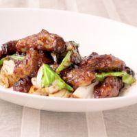 キャベツと牡蠣の回鍋肉風