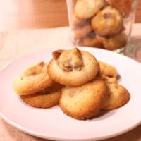 香ばしいサクッとくるみクッキー