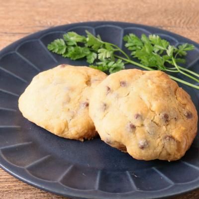 アーモンドとチョコチップのクッキー