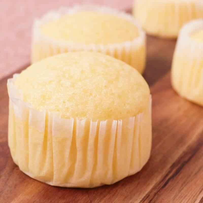 基本の蒸しパン プレーン味 作り方・レシピ | kurashiru [クラシル]