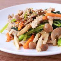 豚バラ肉の中華風野菜炒め