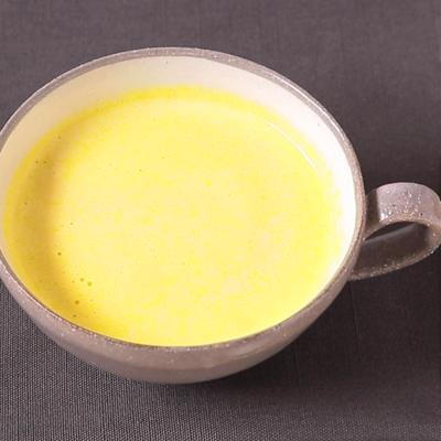 かぼちゃの煮物でポタージュスープ
