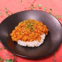 お肉不使用!高野豆腐のヘルシーキーマカレー