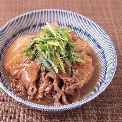 炊飯器で簡単肉豆腐