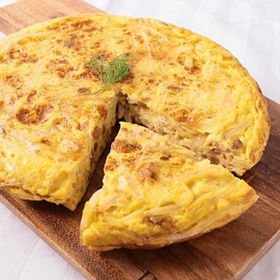 節約 もやしと納豆の満腹チーズオムレツ