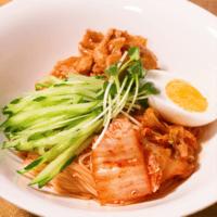 韓国風!ソーメンビビン麺
