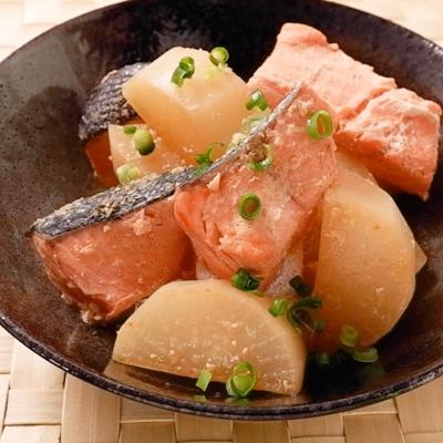 味がしみしみ 鮭大根
