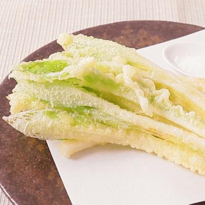 天ぷら粉でお手軽 うるいの天ぷら